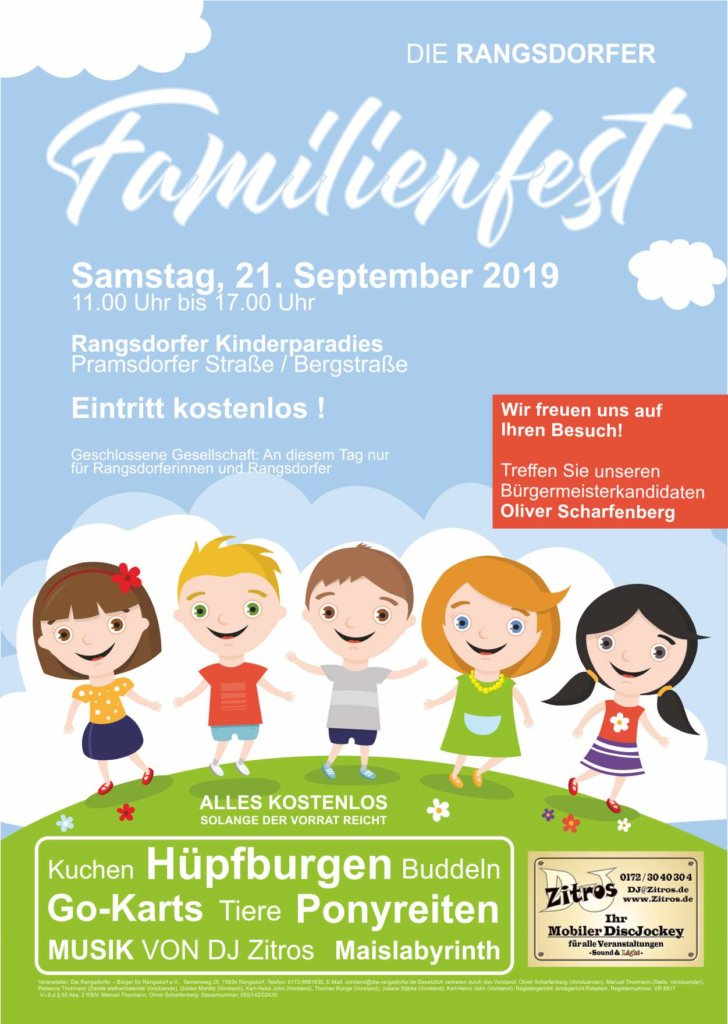 Rangsdorfer Familienfest